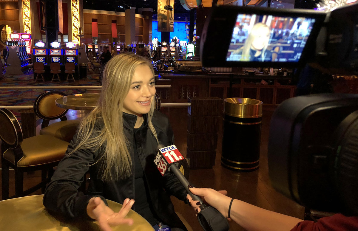 Natalie Decker featured guest at annual Press Conference at Hollywood Casino