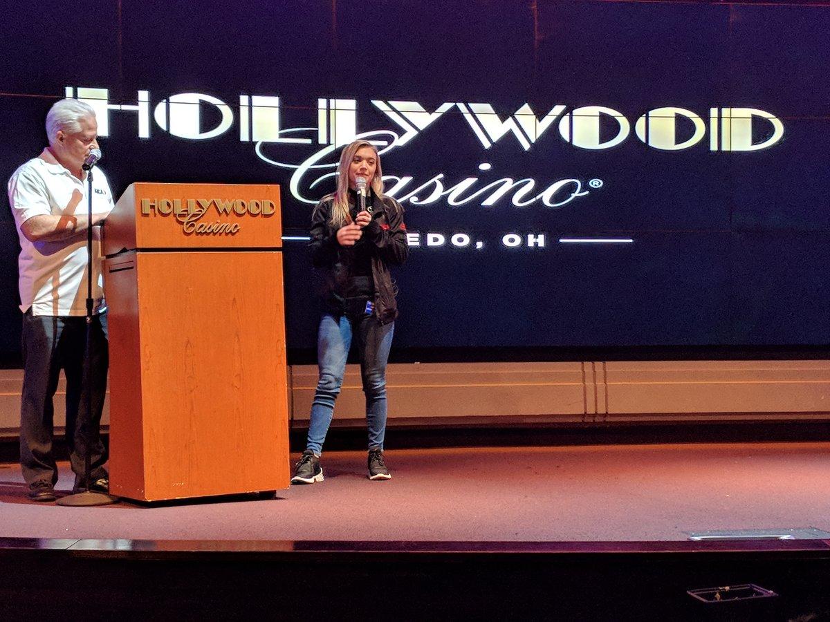 Video: Natalie Decker press conference at Hollywood Casino in Toledo