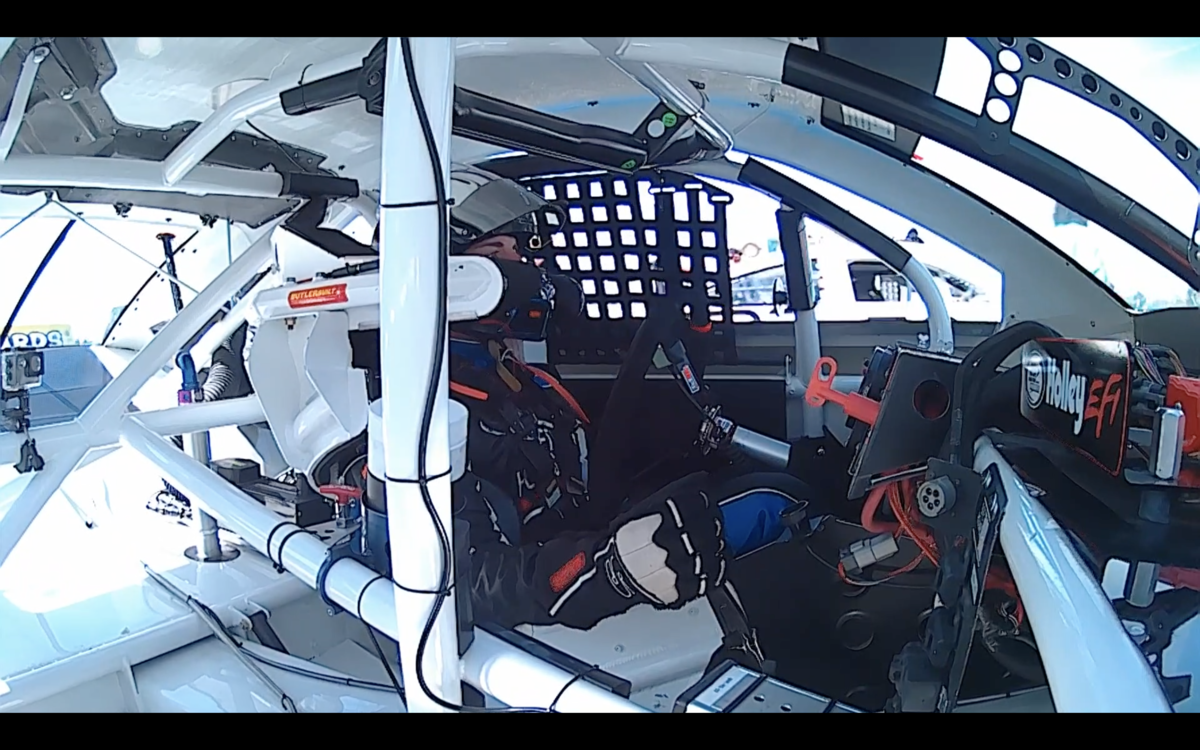 Video: Kentuckiana Ford Dealers 200 practice with Bret Holmes
