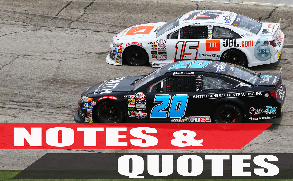 Eckes makes it 2 out of 3 for Venturini; Salem action lights up Twitter
