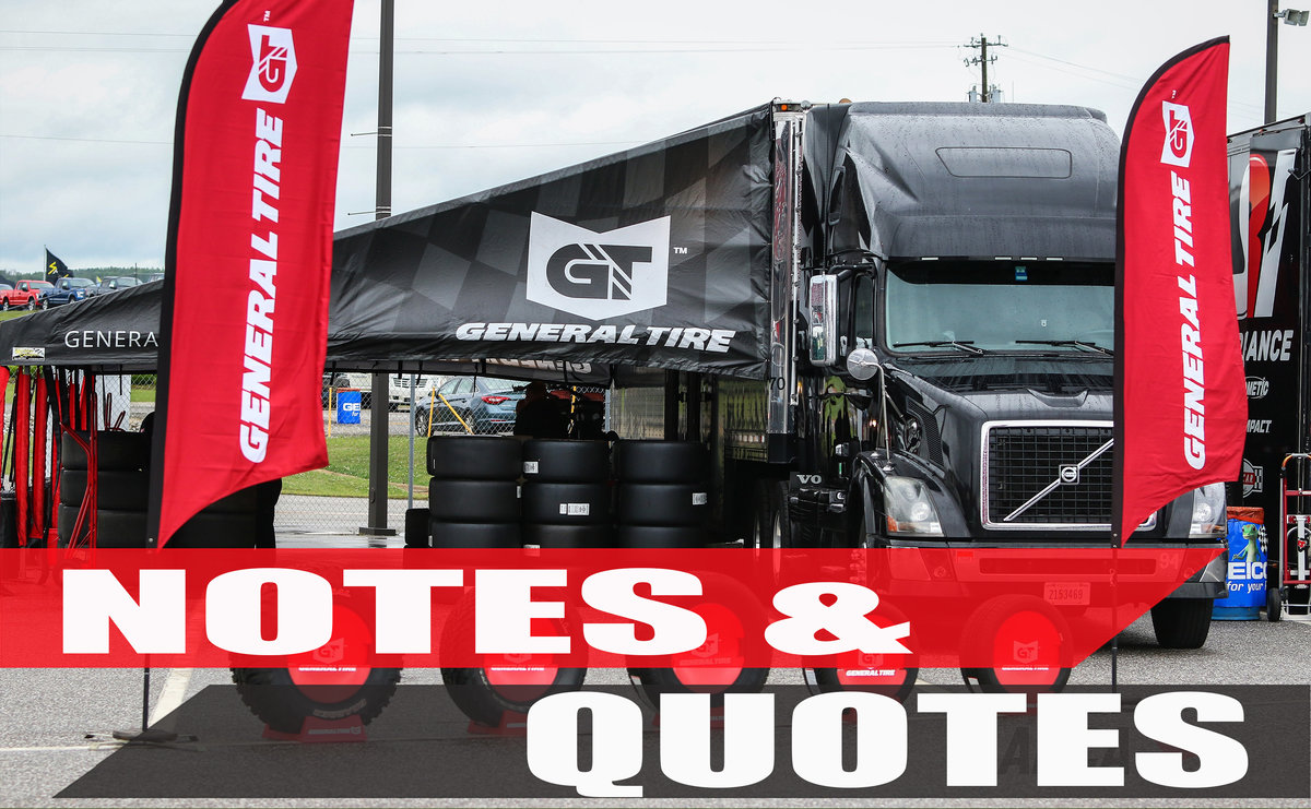 General Tire 200 Notes to Talladega