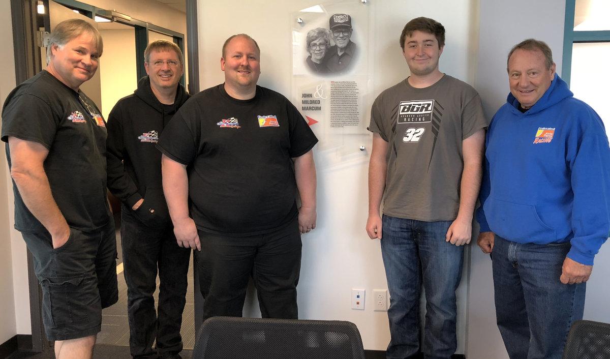 Ken Schrader Racing visits ARCA home office; Toledo testing today