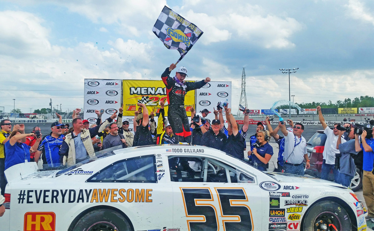 ARCA's youngest winner Gilliland returns; General Tire 150 at Charlotte next