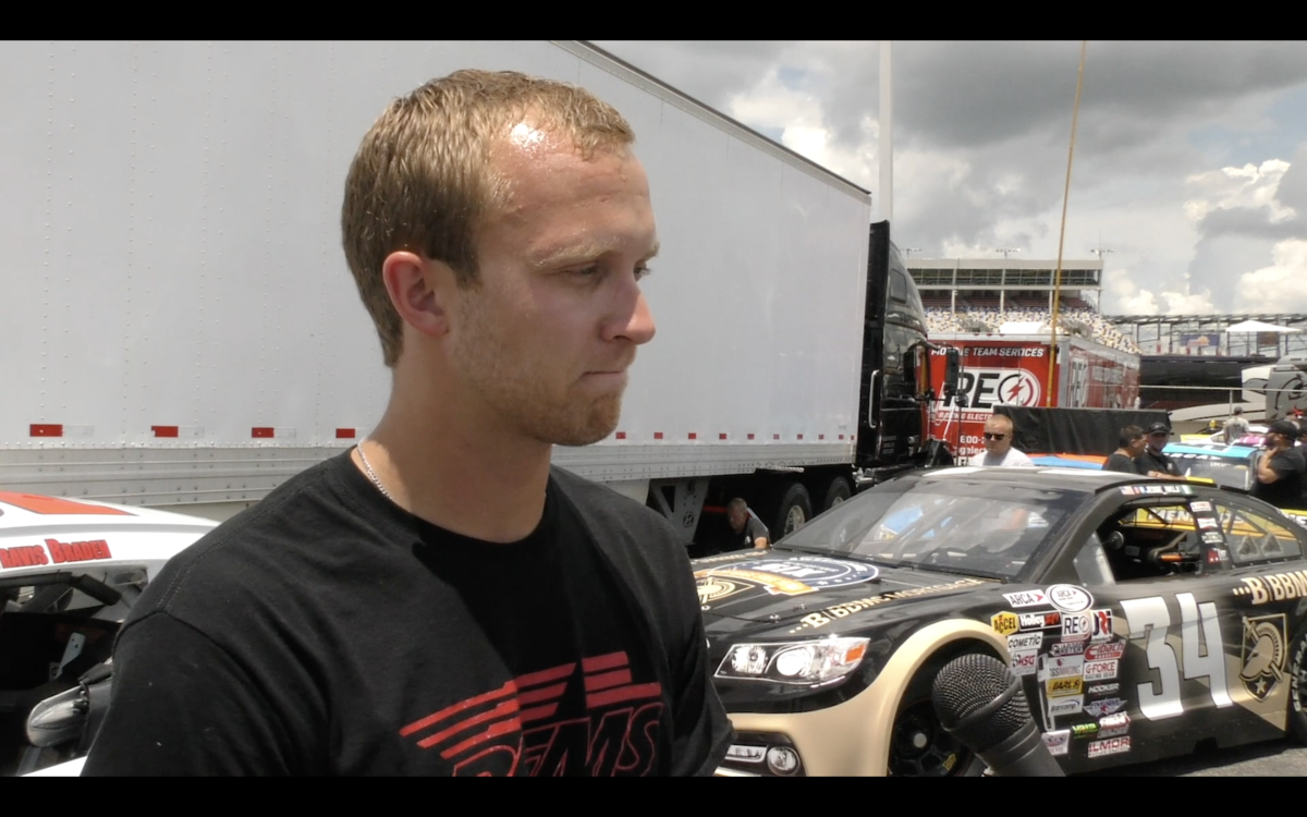 Video: Braden looking for success at Charlotte