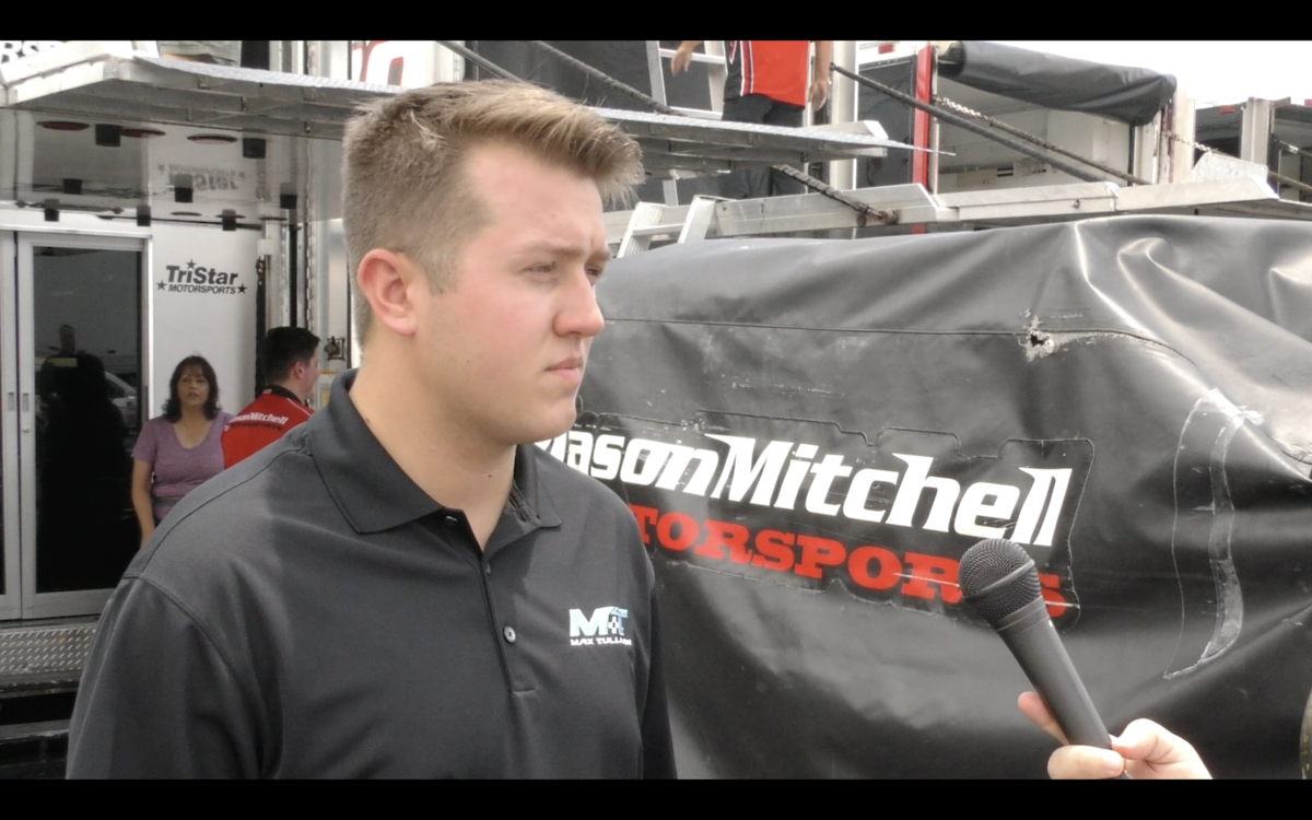 Video: Max Tullman is looking to limit mistakes in the General Tire 150