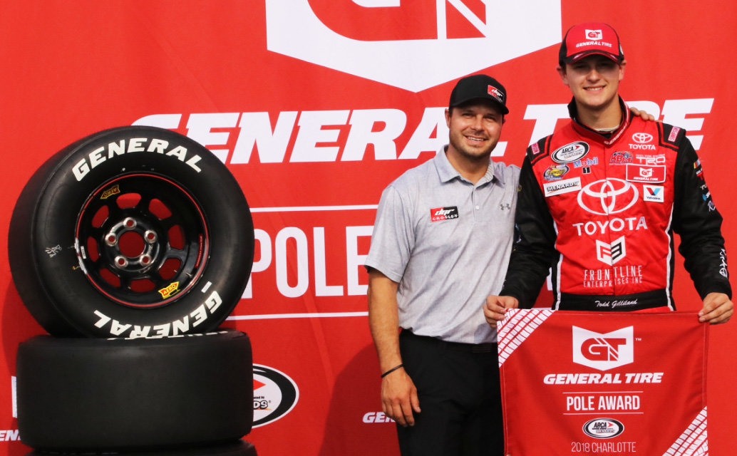 Gilliland perfect at Charlotte; wins General Tire Pole for GT 200