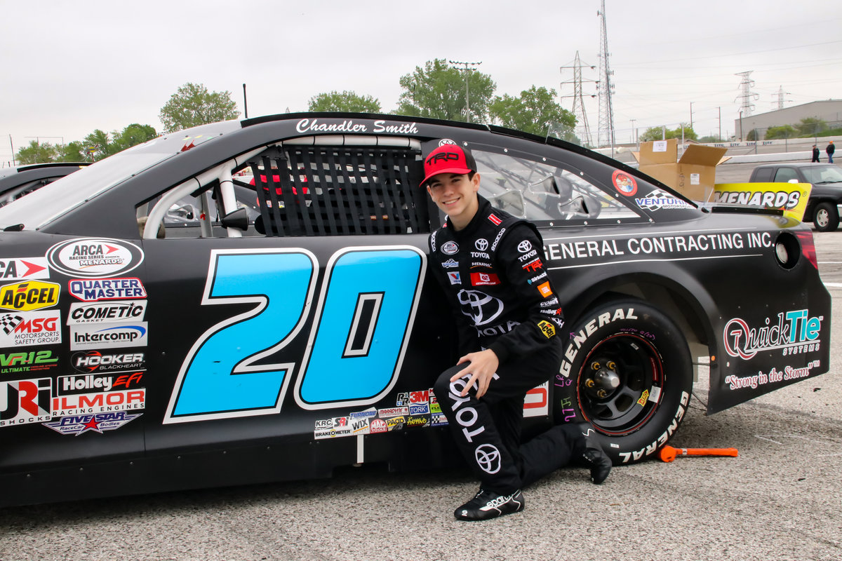Rookie Standout Chandler Smith Aiming for First ARCA Win at Madison