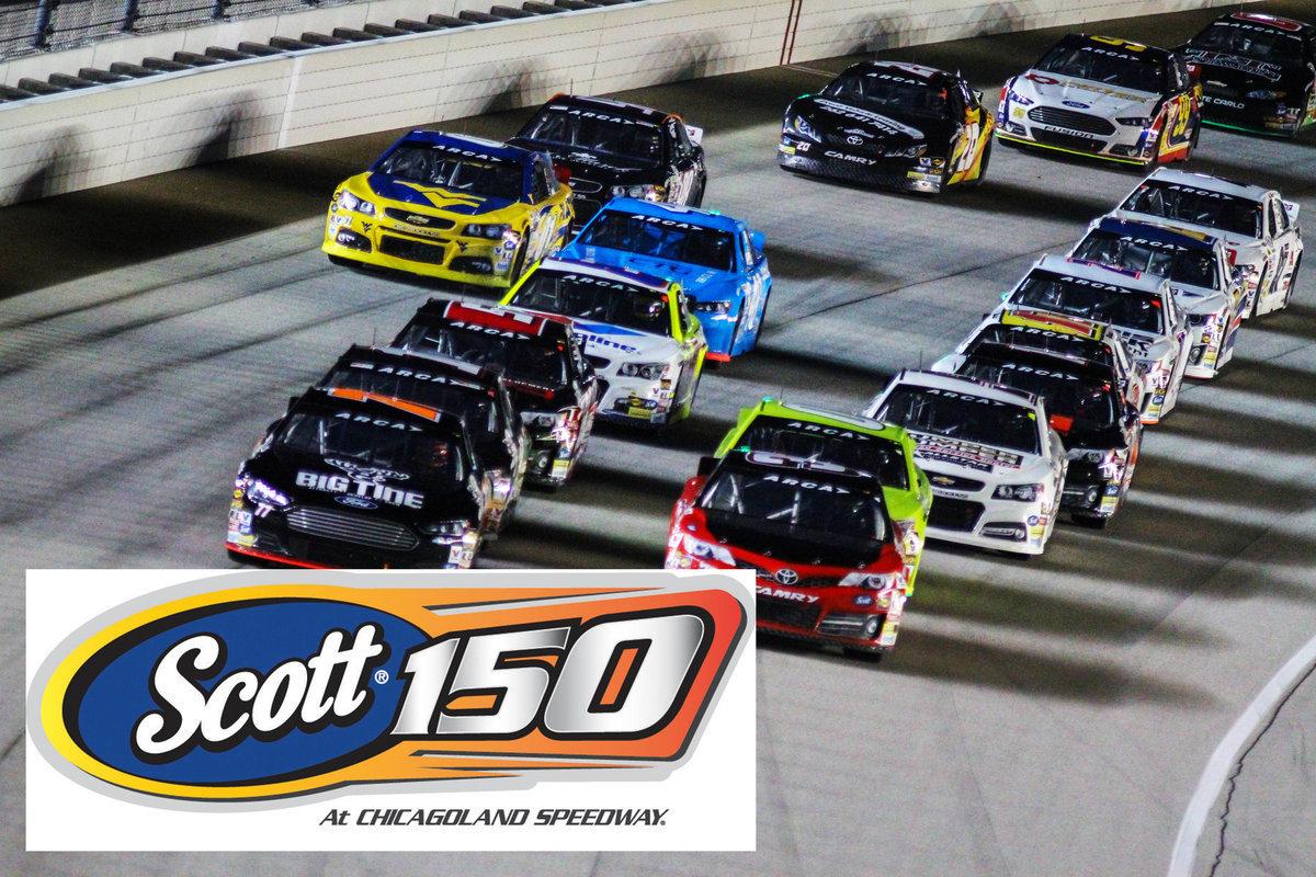 "ARCA Racing Series ""SCOTT® 150 Discount"" Tickets On Sale at Menards"