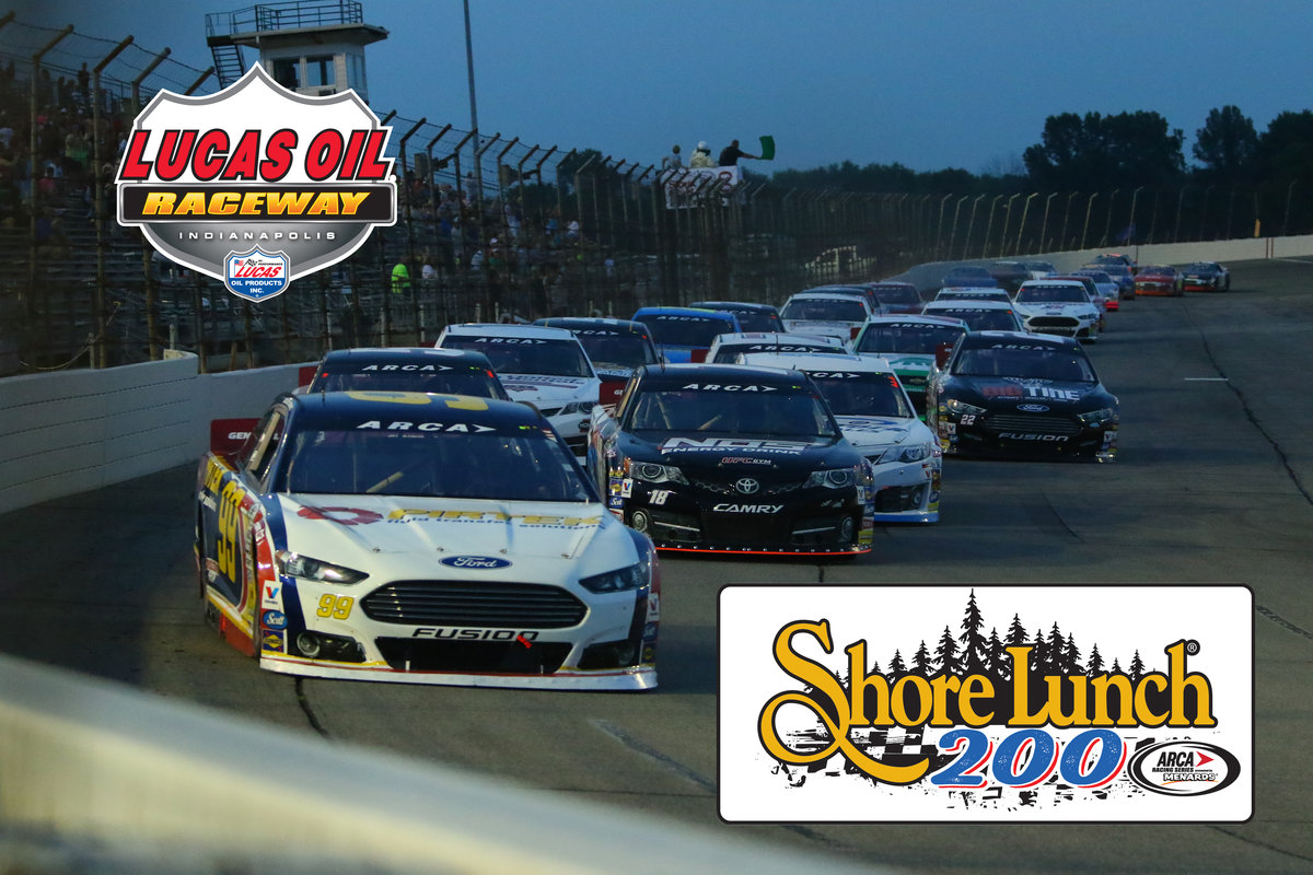 Shore Lunch Brand to sponsor ARCA Racing Series event at Lucas Oil Raceway