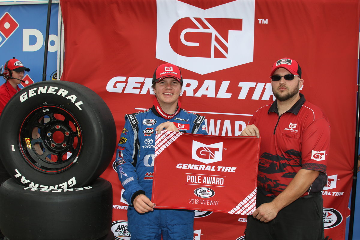 Sheldon Creed Trying to Grab Share of General Tire Pole Award Lead at Springfield