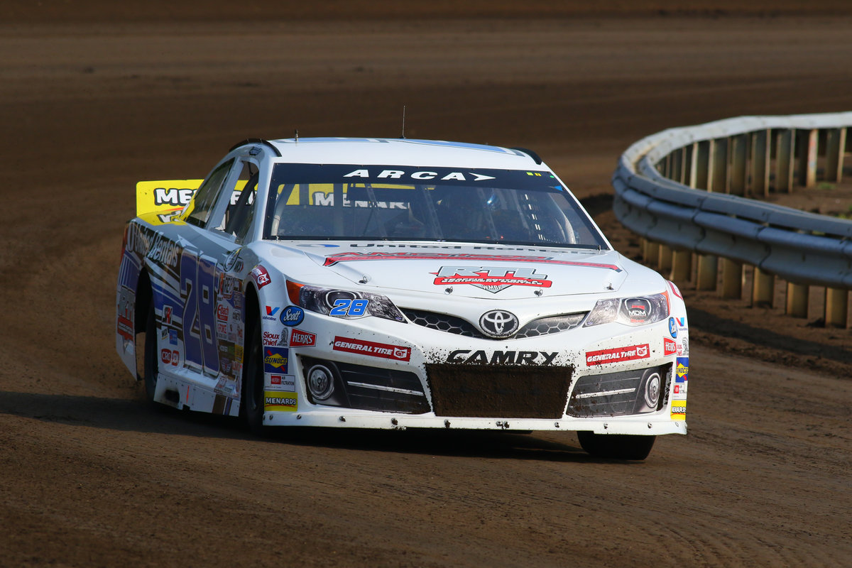 Creed Leads Only ARCA Practice of the Day at Springfield