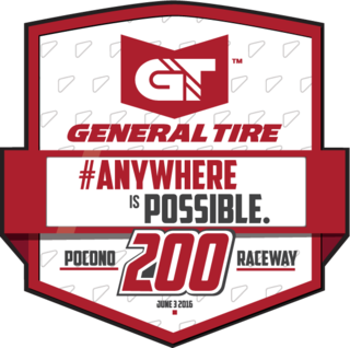 General Tire #AnywhereIsPossible 200 Fantasy League