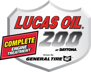 Lucas Oil Complete Engine Treatment 200 Driven by General Tire