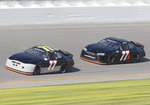 77 Cars Daytona Test