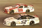 Justin Fontain #33 and Austin Theriault #52