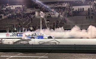 #28 Toyota wins at gateway