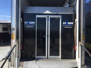 Hauler door entry