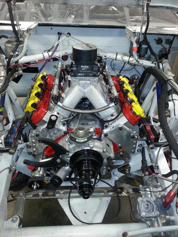 ARCA Ilmor 396 in Bobby Gerhart's car