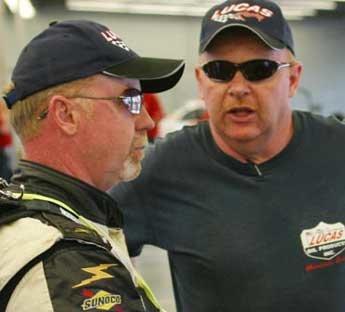 Gerhart Brothers discuss at Daytona