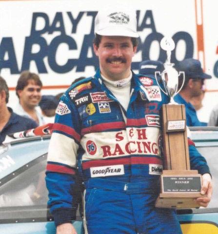 Jimmy Horton Victory Lane Daytona