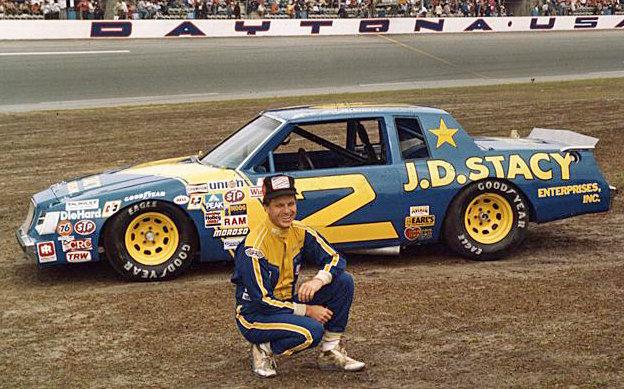Joe Ruttman in No. 2 JD Stacy Car at Daytona