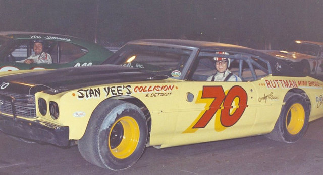 Joe Ruttman in 70 Car in Starting Grid