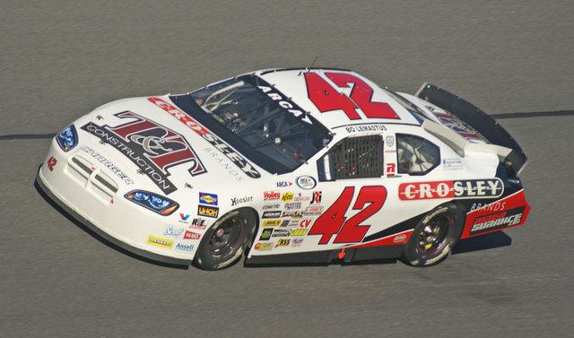 Bo LeMastus car shot at Daytona
