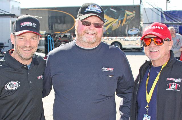 Bo LeMastus, Danny Glad and Geoff Bodine