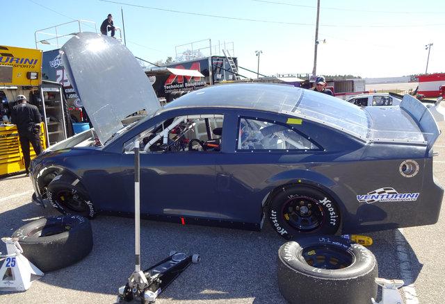 Brandon Jones car shot at Mobile test 2015