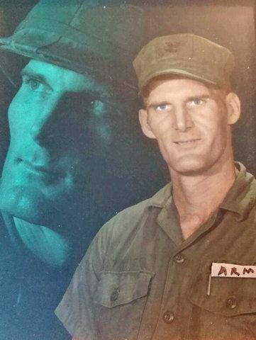 Wayne Peterson U.S. ARMY uniform