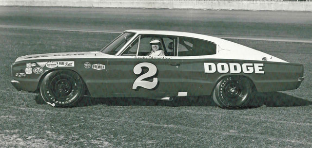 Andy Hampton in 2 car at Daytona
