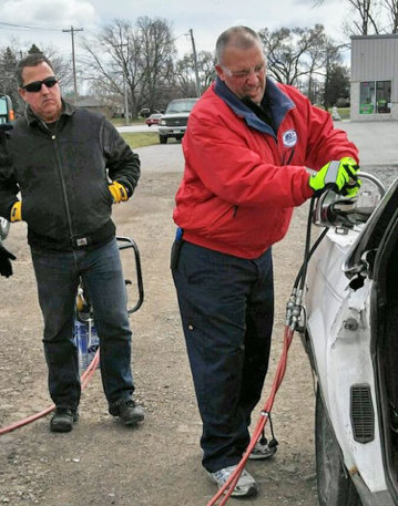 Tom Rogers Jaws of Life Safety Seminar Toledo Speedway 2016