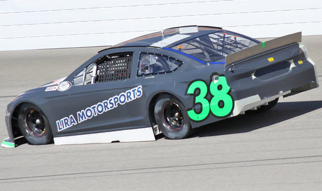 Lira Composite Car 38 at MIS Test