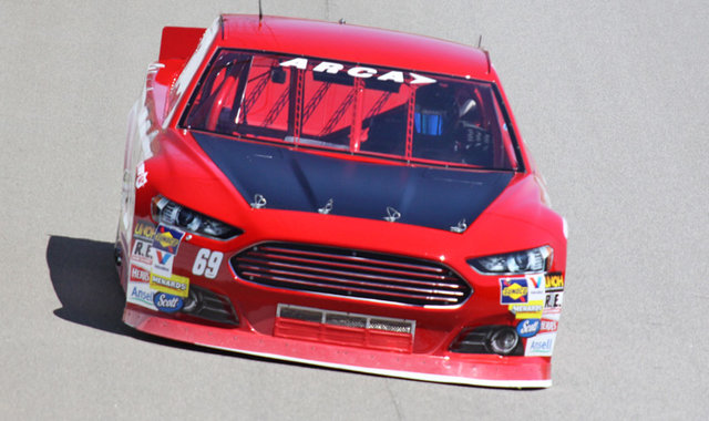 Will Kimmel Composite Car Test at MIS 2016
