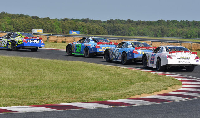 NJMP on track action 2016