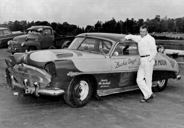 Buckie Sager with Hudson Hornet