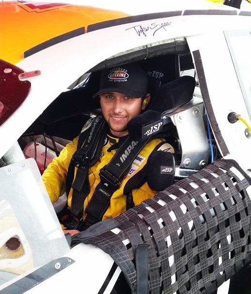Tyler Speer in-car 2014