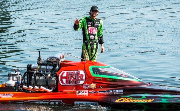Tyler Speer ProBoat pose