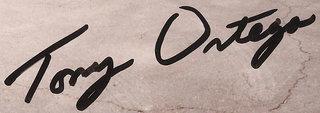 Tony Ortega autograph