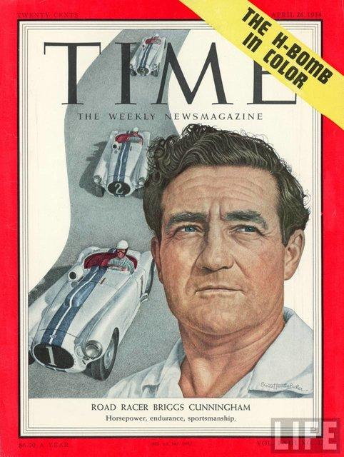 Briggs Cunningham II Time Magazine
