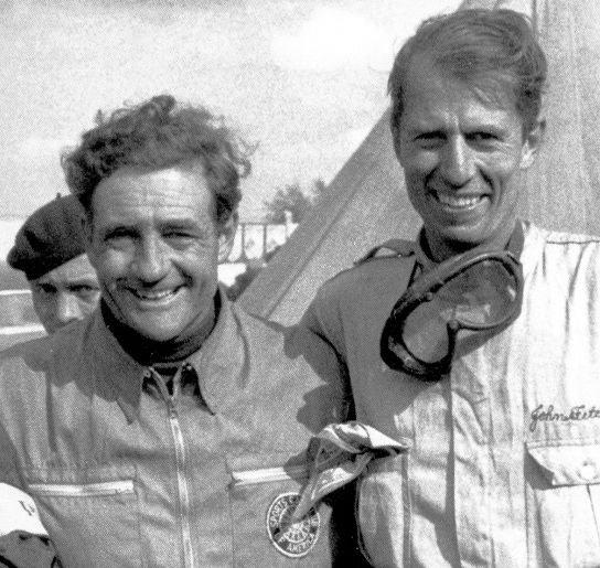 Briggs Cunningham and Teammate