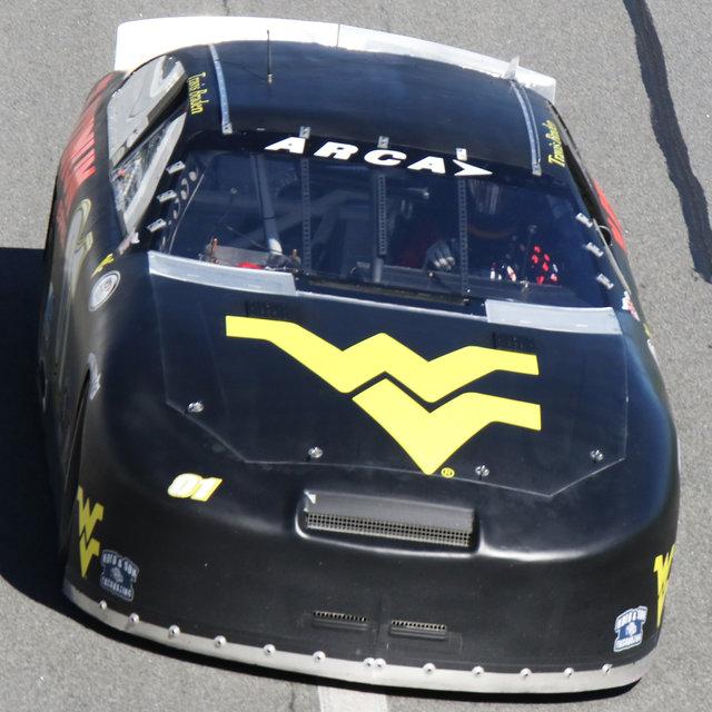 Travis Braden car shot Daytona test 2017