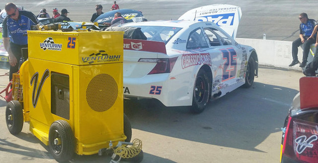 VMS, Win-Tron, MMM, BHR, JGR, Empire lead off testing at Nashville