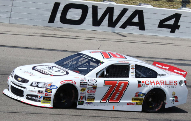 Kyle Weatherman Car Shot Iowa 2017
