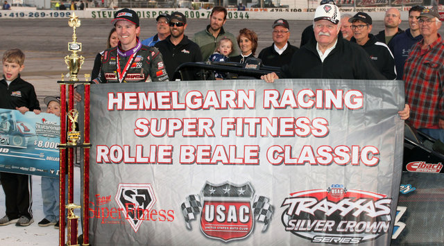Swanson earns 20th career Silver Crown win in Rollie Beale