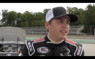 Noah Gragson consistent in practice
