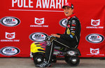Zane Smith Pole Award at Kansas '17