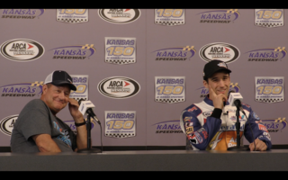 Theriaults final press conference from Kansas Speedway