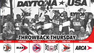 An emotional Andy Hillenburg in Victory Lane at Daytona