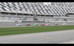 On track activity for ARCA test in Daytona day 2